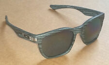 OAKLEY GARAGE ROCK polarized sunglasses - blue woodgrain OO975-08 - Made in USA