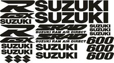 Suzuki GSXR600 GSXR 600 decal motorbike motorcycle stickers FREE UK P&P