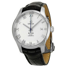 Omega De Ville Co-Axial Automatic Silver Dial Stainless Steel Mens Watch