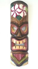 Hand Carved Wooden Tiki Mask