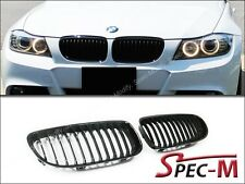 2009-2011 E90 325i 328i 335i LCI Model Front Jet Black Replacement Grille Grill