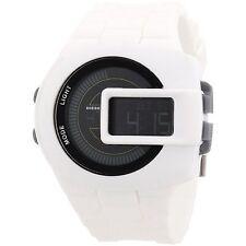 Diesel DZ7275 Digital View finder White Silicone Mens Watch