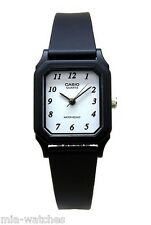 Casio LQ142-7B Ladies White Dial Resin Casual Dress Watch Water Resistant NEW