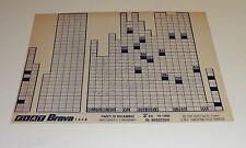 Microfich Ersatzteilkatalog Fiat Brava 1.4 - 1.6 Stand 10/1995