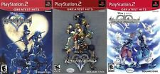 Kingdom Hearts I, II, & RE: Chain of Memories Combo Pack [PlayStation 2 PS2] NEW