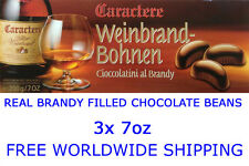 "3x ""Caractere Brandy Filled Chocolate Beans"" 3x 200g/7oz - Best Deal on eBay"
