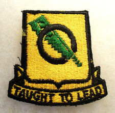 1950'S GERMAN EMB 8TH RECON POCKET PATCH OPEN WEAVE EMB NEAT PIECE CUT EDGE