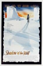 SHADOW OF THE WOLF - 27x40 Original Movie Poster One Sheet 1992