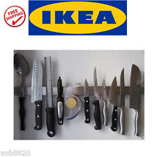 IKEA Grundtal Stainless Steel Magnetic Kitchen Knife Wall Rack Tool Holder