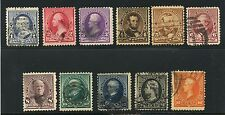 USA 1890 Issue Complete #219-229 - used