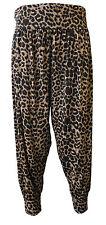 Womens Ali Baba Hareem Harem Pants Ladies Printed Baggy Cuffed Trouser Leggings