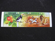 Singapore 2004 Mint Stamps- Care For Nature