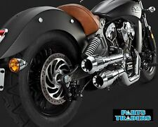 Vance And Hines Exhaust Hi Output Grenades Chrome Indian Scout 2015 2016