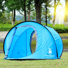 Camping Hiking Easy Foldable Automatic Setup Pop Up Instant Large Dome Tent SALE