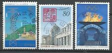 ˳˳ ҉ ˳˳PM-13 Japan Commemorative SON Postmark Monuments Recent set used Japon 日本