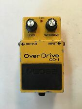 Boss Roland OD-1 Over Drive Overdrive 1986 Rare Vintage Guitar Pedal MIJ Japan