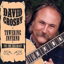 DAVID CROSBY of CROSBY STILLS & NASH New 2017 UNRELEASED 1989 LIVE CONCERT CD