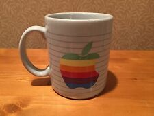 Apple The Most Personal Computer Mac Rainbow Logo Macintosh Coffee Mug VINTAGE