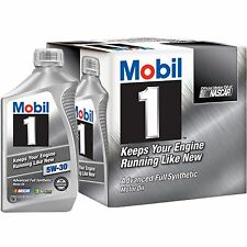 Mobil 1 Advanced Full Synthetic 6pk Motor Oil 5W-30 New!!