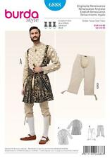 BURDA SEWING PATTERN ENLISH RENAISSANCE JACKET COAT KNEE BREECHES  36 - 50 6888