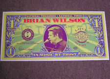 Brian Wilson NATIONAL TREASURE Tour Poster Ltd ed Print Signed by Artist MINT
