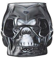SKULL cranio votive grigio fumo votive portacandele in vetro portacandele tea light