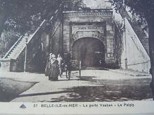 Carte postale la porte Vauban Le Palais à Belle-île-en-Mer