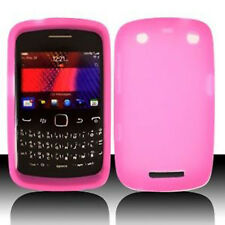 Hot Pink SILICONE Soft Gel Skin Case Cover for Blackberry Curve 9350 9360 9370