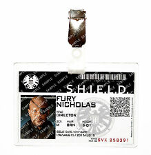 Agents of Shield ID Badge Hydra Nick Fury Avengers Cosplay Costume Comic Con