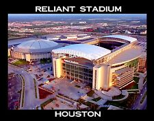 Houston - RELIANT STADIUM - Travel Souvenir Flexible Fridge Magnet