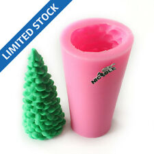 LZ0005 Nicole 3D Xmas Tree Silicone Candle Soap Molds Resin,Clay Crafts Mould