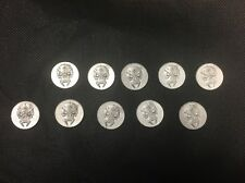 10 Mage Knight Metal Tokens Markers Coins Necropolis Sect Faction