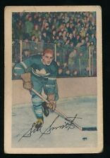 1952-53 Parkhurst Hockey #45 SIDNEY SMITH (Toronto Maple Leafs)