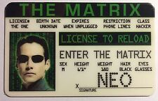 Neo - The Matrix - Drivers License Novelty