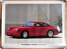 """orginal Porsche Plakat Renn Poster """"Porsche 911 Carrera"""" Klassik"""