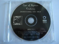 Clan Of Xymox  __ CREATURES  __  11 Track PROMO CD   __  FOR COLLECTORS