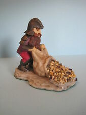"ENCHANTICA Fantasy Figures & Dragons EN2012 DWARF ""TARBET WITH SACK"""