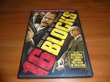 16 Blocks (DVD, 2006, Widescreen) Bruce Willis, Mos Def Used Sixteen
