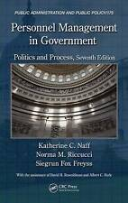Personnel Management in Government, Katherine C. Naff