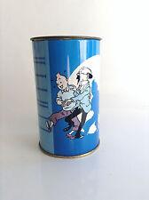 tirelire  en Tole Tintin Brochet BON ETAT