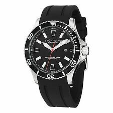 Stuhrling Original Aquadiver Mens 706.01  Quartz Luminous Sports Watch