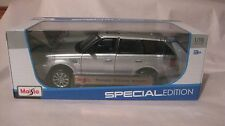 Range Rover Sport In A Silver 1:18 Scale Diecast from Maisto 2015     NEW dc1314