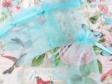 "50 Drawstring Organza Gift Bag 4""x6"" Big Wedding Favor Pouch NO4-Pick 14 Colors"