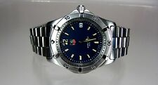 TAG Heuer Professional, Blue Dial, Full-size, Men's Watch, WK1113, Mint