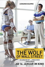 "211 Leonardo DiCaprio - The Wolf of Wall Street Movie Star 14""x21"" Poster"