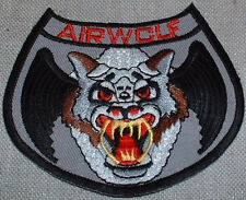 Airwolf TV Series Embroidered Logo Shoulder Patch