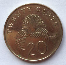 Singapore 2nd Series 20 cents 2011 coin