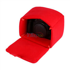 Shockproof  Mirrorless Camera Lens Case Insert Cushion Partition Padded Bag Red