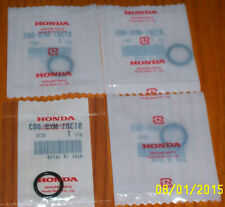 Honda CBX CB900C Oil Cooler Lines Seals O-Rings 91301-MY9-003 91302-028-000 (4)
