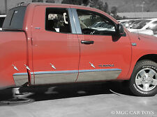 Toyota Truck Rocker Panel 07-2012 Tundra Double Cab 5.8' Bed 10'' 8 Piece Set